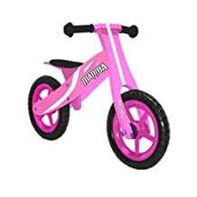 "Mamba 12"" Classic Wood Balance Bike (8 COLORS)"