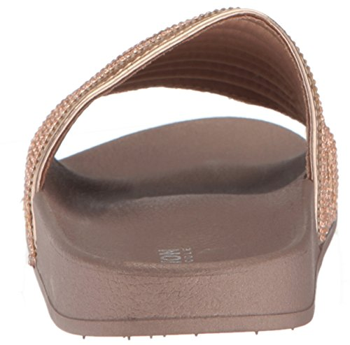 Kenneth Cole REACTION Womens Pool Game Sporty Thin Stripes Slide Sandal Rose Gold UdfJ2OsSE