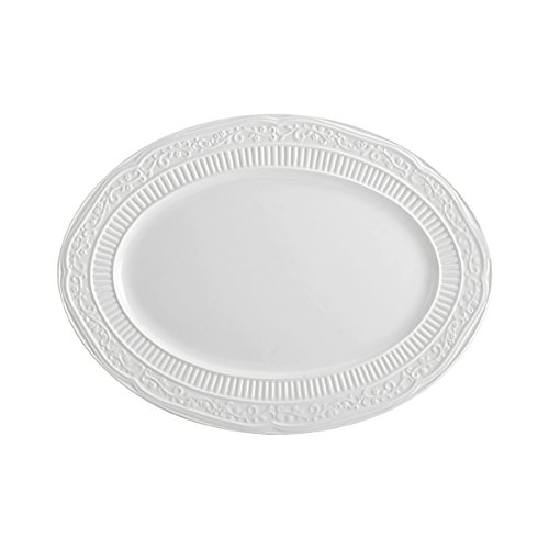 Dinnerware Oval Serving Platter (Mikasa American Countryside Oval Serving Platter, 15-Inch)
