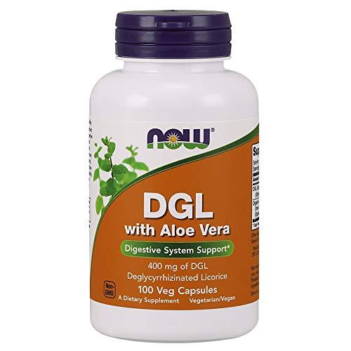 Now DGL with Aloe Vera, 100 Veg Capsules