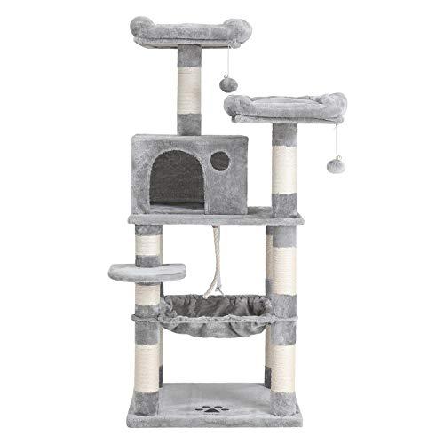 FEANDREA Multi-Level Cat Tree with Hammock