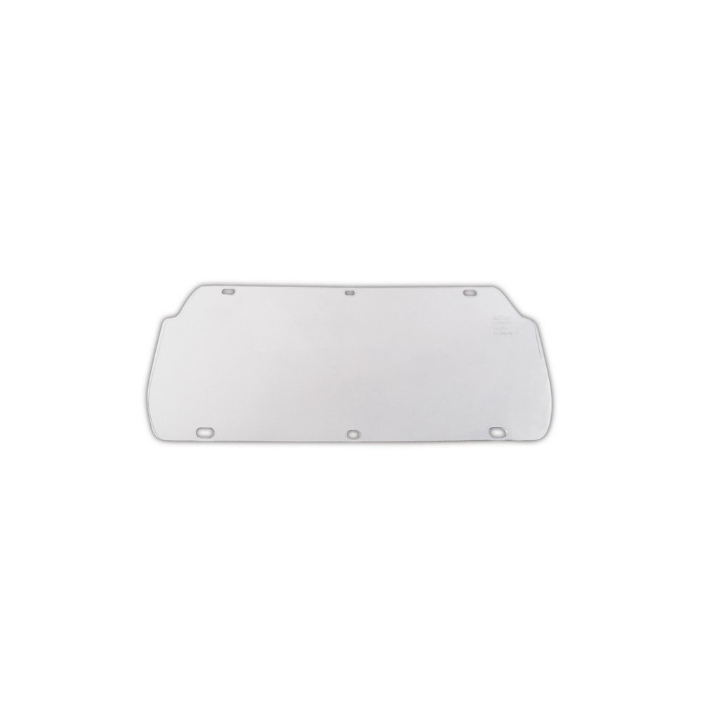 MCR SAFETY 494400 U.S. Safety Replacement Windows for Double Matrix Faceshield, 0.02'' Height, 4'' Wide, 16'' Length, Acetate, Clear