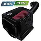 S&B Filters 75-5116 Cold Air Intake for 2017-2018 Silverado 1500 / Sierra 1500 5.3L & 6.2L (Cotton Cleanable Filter)