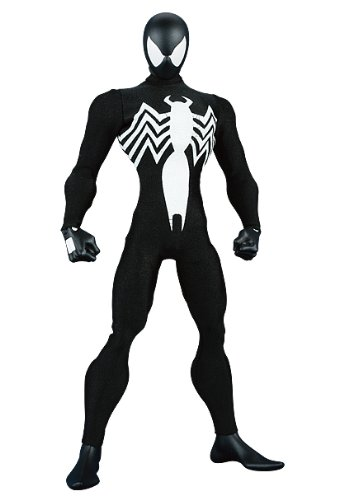 Real Action Heroes No.251SPIDER-MAN ALIEN COSTUME ( Black Spider-Man ) comic Ver. ()