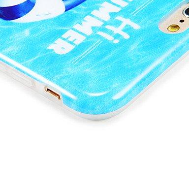 Fundas y estuches para teléfonos móviles, Caso para el iphone 7 más la cubierta del iphone 7 imd la caja de la contraportada la historieta atractiva de la señora suave tpu para la ( Modelos Compatible IPhone 7 Plus