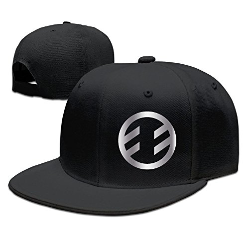 Fireflight Band Platinum Logo Baseball Snapback Hat Black (Wendy Adams Family)