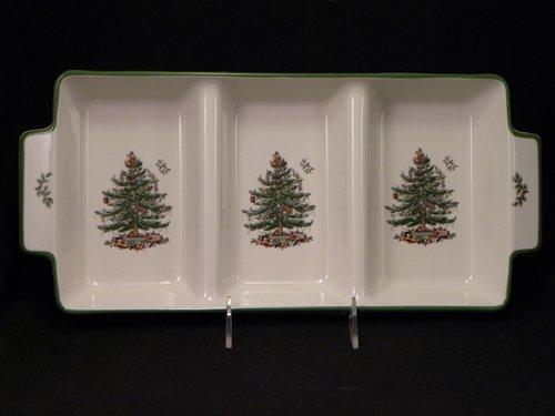 (Spode Christmas Tree Handled 3 Part)