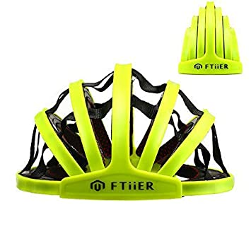 Amazon.com: Ftiier - Casco plegable para bicicleta ...