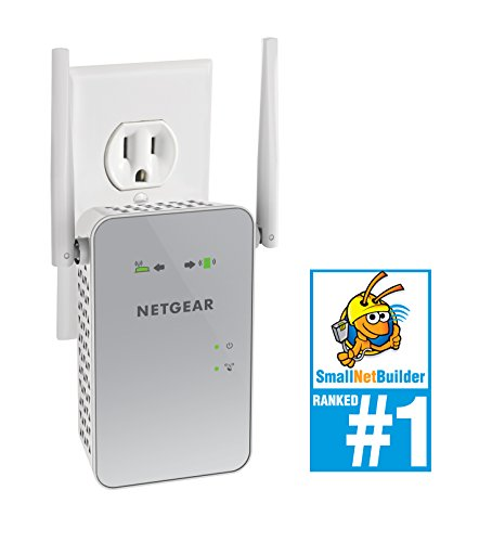 NETGEAR AC1200 WiFi Range Extender (EX6150-100NAS)