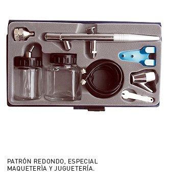 MC-2037 Kit de Pistola Aerografo de Succion MCR