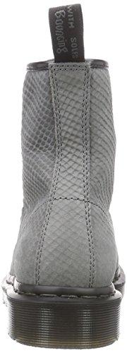 Femme Grey Dr Python Gris Martens Bateau 1460 Suede Chaussures 60fFgqx