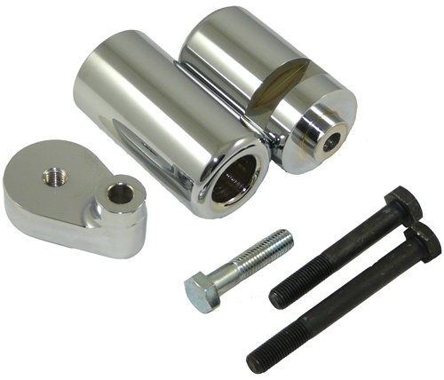 Yana Shiki CA3085 Triple Chromed Frame Slider Set for Yamaha YZF
