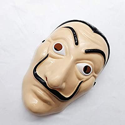 HM Face Mask, Full Face Mask Halloween Paper House Mask Bar Party Cosplay: Toys & Games