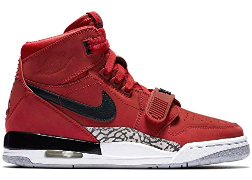 Nike Jordan Kids Air Jordan Legacy 312 (GS) Varsity Red/Black/Wht Basketball Shoe 5 Kids US