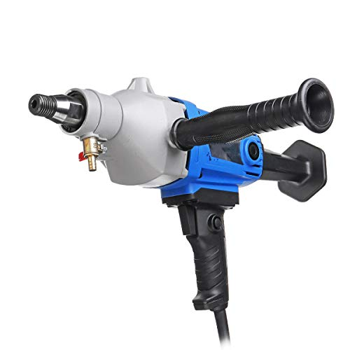 QWERTOUR Diamond Core Drill 220V Wet Handheld Concrete Core Drilling Machine