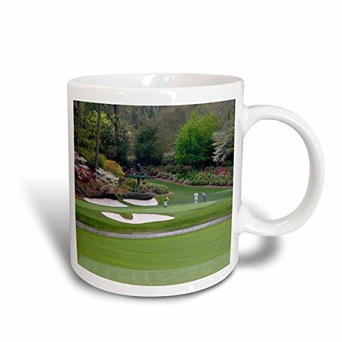 3dRose Augustas Amen Corner Golf Course Where Dreams are Made and Lost Ceramic Mug, - Light Augusta Fifteen