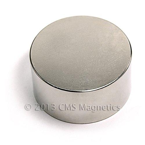 CMS Magnetics Disc Magnet Neodymium Grade N52 2