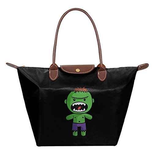 [The Cutest Cartoon Hulk Women Stylish Waterproof Hobo Bag Large Tote Shoulder Handbag] (Incredibles Costumes Designer)