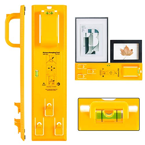 Picture Hanging Tool with Level Easy Frame Picture Hanger Wall Hanging Kit