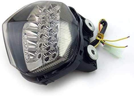 Amazon.com: MZS Tail Light Turn Signal LED Integrated ...