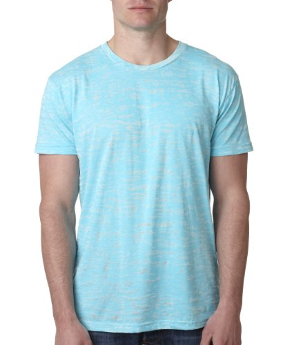Next Level 6010 Men's Tri-Blend Crew Tee - Medium - Tahiti (Tri Blend Rib)