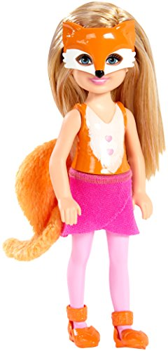 Barbie Sisters Chelsea and Friends Doll, Fox