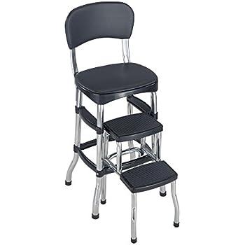 Amazon Com Cosco 11 120cby1 Retro Chair Step Stool Yellow