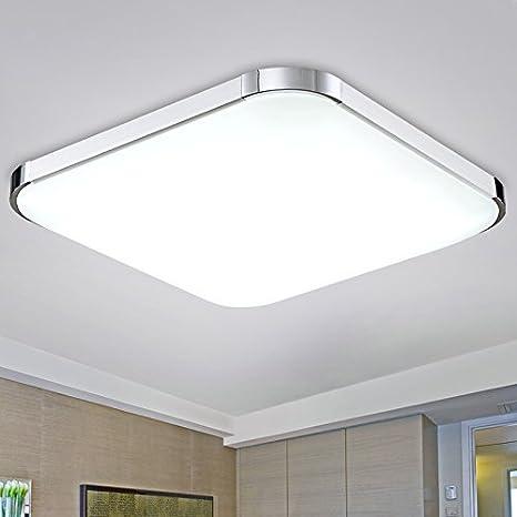 UZI-LED techo lámparas, ultra delgadas, aire, sala cuadrada ...
