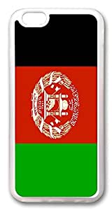 ACESR Afghanistan Flag Personalized iPhone 6 Cases, TPU Case for Apple iPhone 6 (4.7inch) Transparent hjbrhga1544