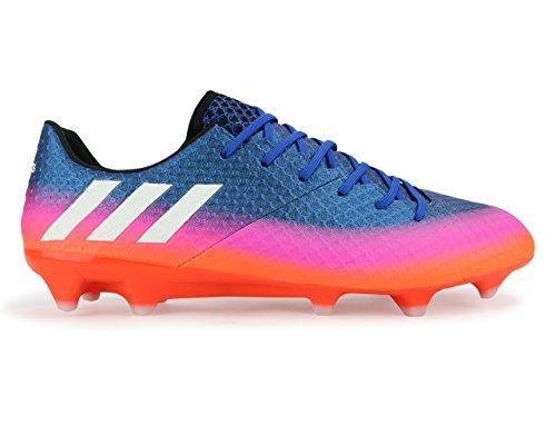 Scarpe Da Calcio Adidas Mens Messi 16.1 Fg Blu / Bianco / Arancio Solare