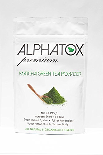 Alphatox Matcha Green Tea