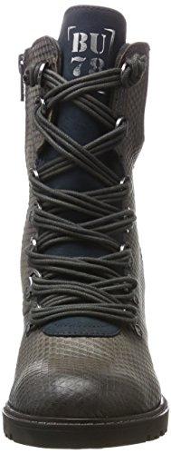 Bugatti Women's 421320331915 Boots, (Dark Grey/Dark Blue) Grey (Dark Grey / Dark Blue 1141)
