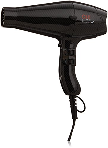 CHI Lite Carbon Fiber Hair Dryer in Light Black