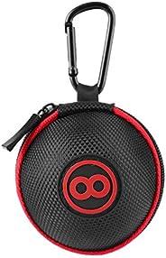 Billiard Ball Bag Carrying Case Holder, Cue Ball Case Clip-on Attaching Billiard Balls Holder Portable Billiar