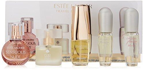 Estee Lauder Travel Exclusives 5 Piece Purse Spray Miniature Collection 5 Piece Set