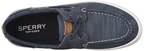 Sperry Top-Sider Mens Wahoo 2-Eye Baja Fashion Sneaker Blue 53wDR