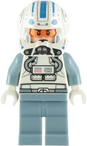 Lego Star Wars Captain Jag (Clone Star Kit Wars Fisto Wars)