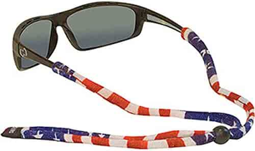 Chums Original Cotton Standard End Eyewear Retainer Colors, American Flag