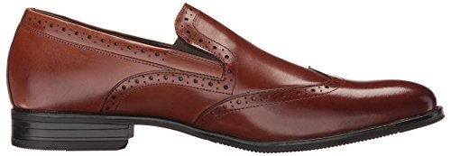 Stacy Adams Men's Sidney Wingtip Slip-on Loafer Cognac high quality buy online discount shop for under $60 sale online pick a best cheap price cheapest price sale online zjCZyB2P