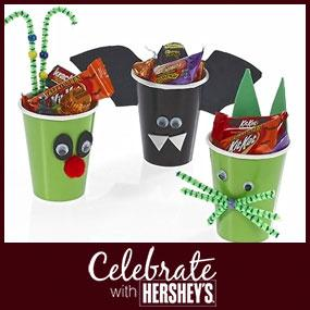 Trick-or-Treat Critter Cups