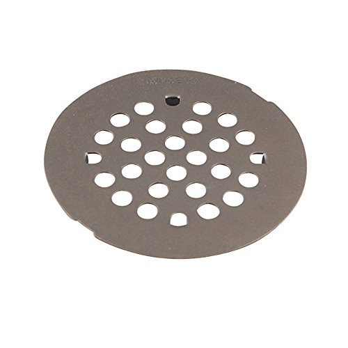 Moen 101663ORB Kingsley 4-1/4-Inch Snap-In Shower Drain Cover, Oil Rubbed Bronze