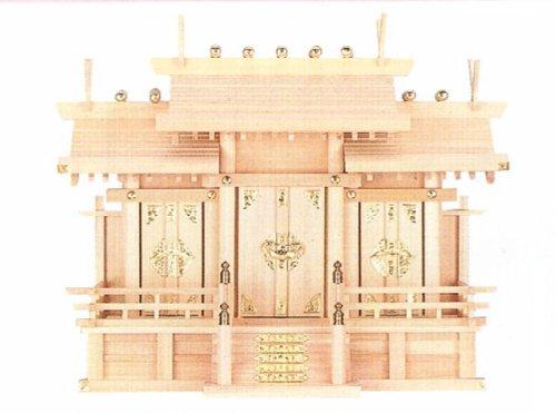 木曽檜の神棚 屋根違い三社(中) B004P5G4Q0