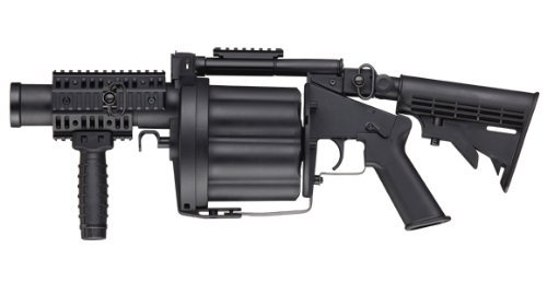 ICS Airsoft GLM 40mm 6-shot Grenade Launcher