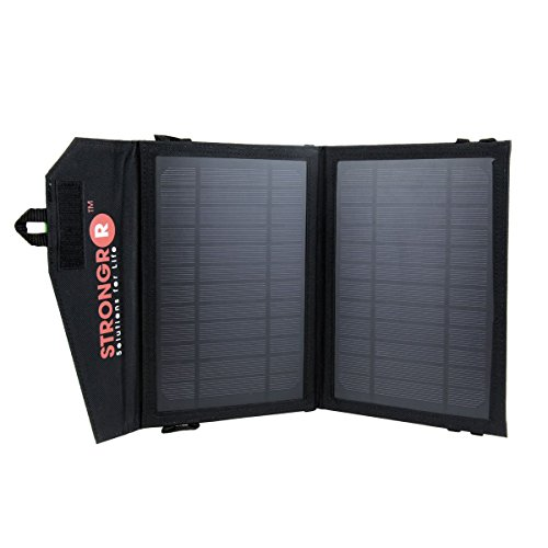LB1 High Performance 7W Foldable Solar Charger w/ High Ef...