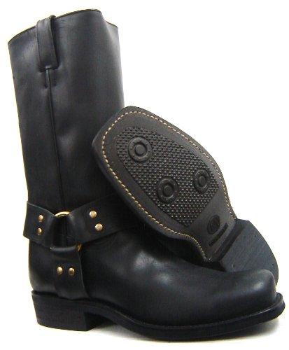 Tony Mora Biker Boots Modell 1210 - Biker Boots de cuero unisex negro - negro