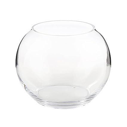 Amazon Decorative Sphere Glass Fish Bowl Vase Terrarium