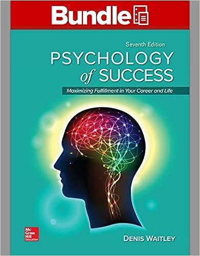 Amazon com: GEN COMBO LOOSELEAF PSYCHOLOGY OF SUCCESS