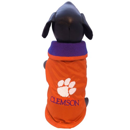 (NCAA Clemson Tigers All Weather Resistant Protective Dog Outerwear, X-Large)