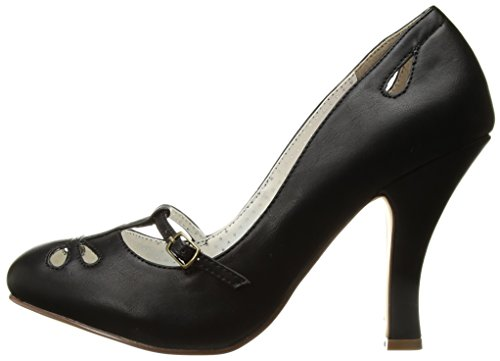 Pin Faux 20 Couture Smitten Up Leather Blk 7wq76zxr