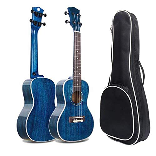 Ukulele Professional Solid Mahogany Wood 23 Inches Concert Ukulele Uke Hawaii Kids Small Guitar with Gig Bag for Kids…
